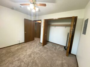 Elm Edge Townhomes in Mitchell, SD - Bedroom 1 Closet