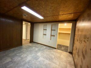 813 NE 8t Street in Madison, SD - Downstairs Bonus Room 2 Closet