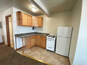 9Two5 Apartments in Mitchell, SD - Studio Kitchen